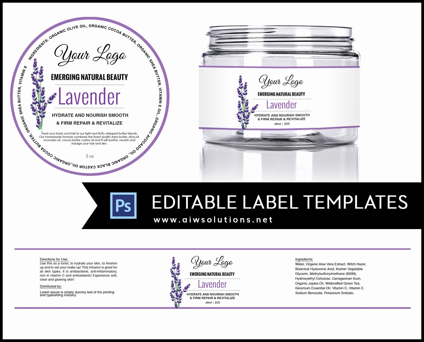 Vitamin Water Label Template Unique Candle Label Bernardin Jar Labels Bottlelabels Candy