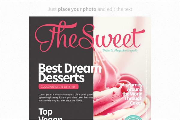 Vogue Magazine Cover Template Beautiful 15 Magazine Design Templates Free Psd Word Designs