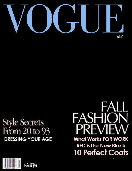 Vogue Magazine Cover Template Elegant 18 Blank Magazine Cover Design Make Your Own