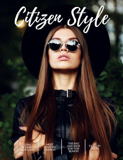 Vogue Magazine Cover Template Inspirational Customize 253 Fashion Magazine Cover Templates Online Canva