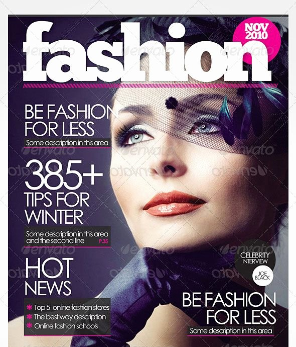 Vogue Magazine Cover Template Lovely 55 Best Magazine Cover Templates Images On Pinterest