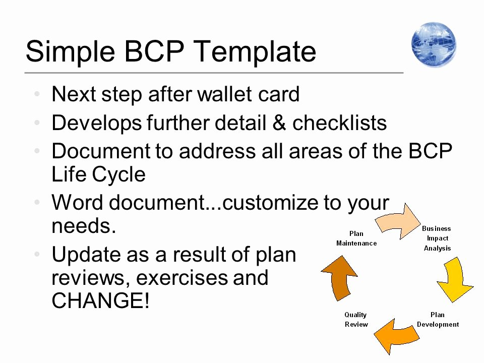 "Wallet Card Template Word Inspirational ""best Practices In Business"" Planning for Pandemic"