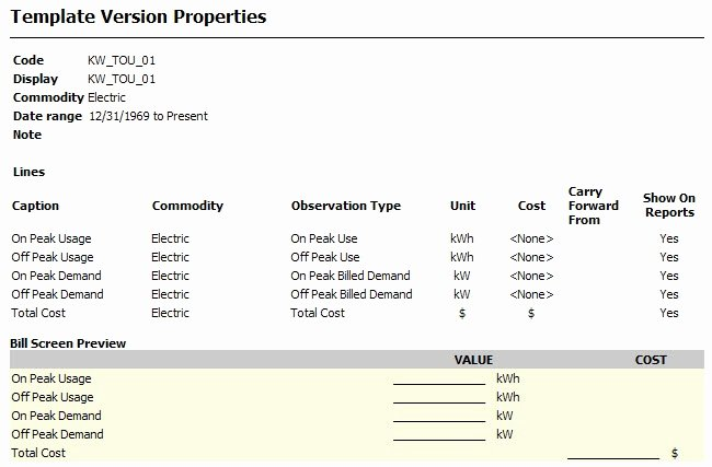 Water Bill Template Beautiful Overview Template Manager Ece Documentation Confluence