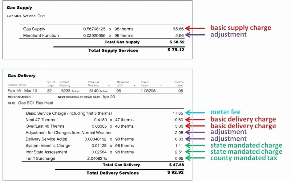 Water Bill Template Luxury 18 Fake Utility Bill Generator