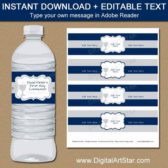 Water Bottle Templates Free Beautiful 25 Best Ideas About Label Templates On Pinterest