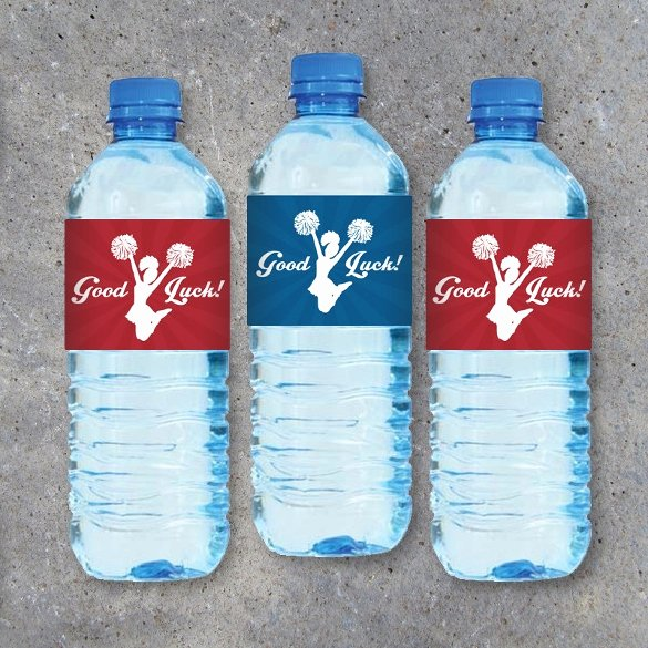 Water Bottle Templates Free Fresh 24 Sample Water Bottle Label Templates to Download