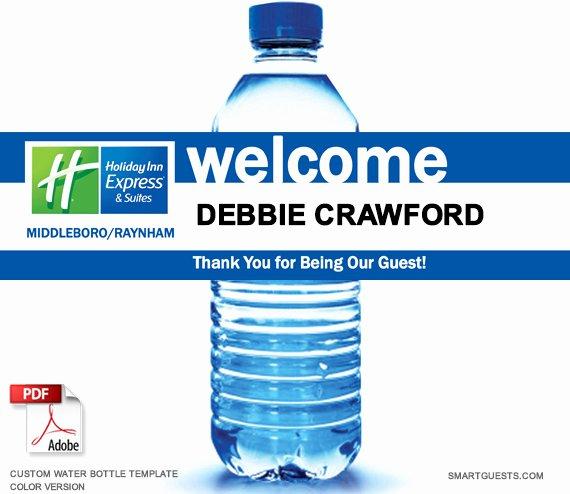 Water Bottle Templates Free Fresh Printable Custom Water Bottle Wrapper Pdf Template Print