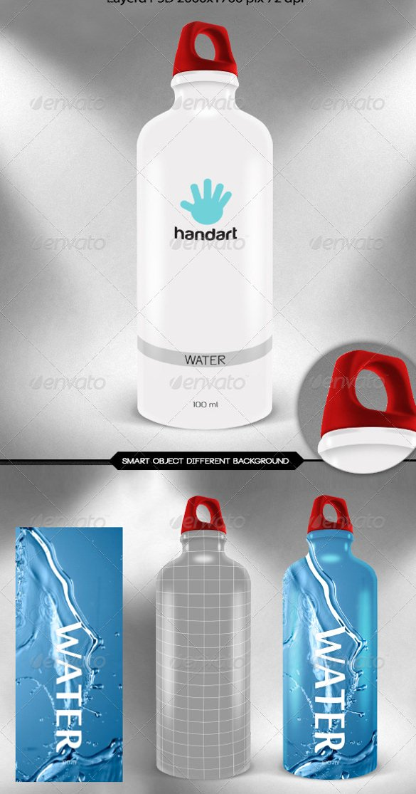 Water Bottle Templates Free Inspirational Water Bottle Label Template – 29 Free Psd Eps Ai
