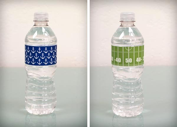 Water Bottle Templates Free Unique Bump Smitten Diy Shower Water Bottle Labels Free Download