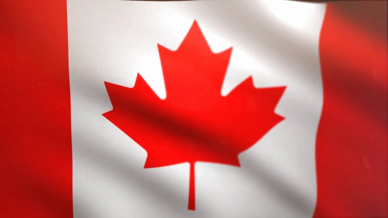 Waving Flag after Effects Awesome Canadian Flag Waving Animated Using Mir Plug In after