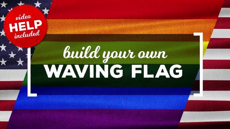 Waving Flag after Effects Awesome Waving Flags Maker after Effects Templates