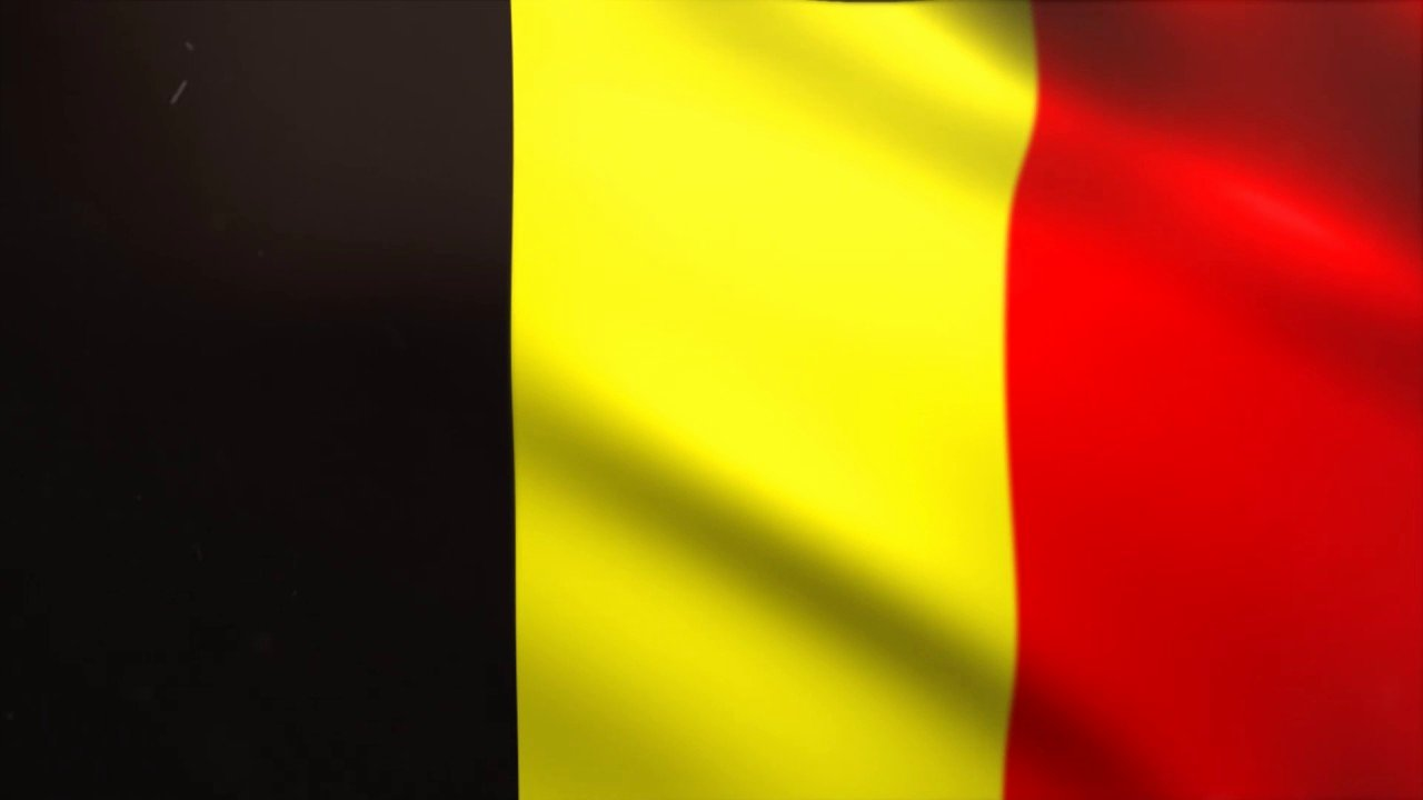 Waving Flag after Effects Beautiful Belgium Flag Waving Animated Using Mir Plug In after