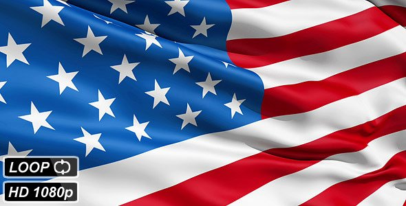 Waving Flag after Effects Beautiful Waving Flag United States America by Fckncg