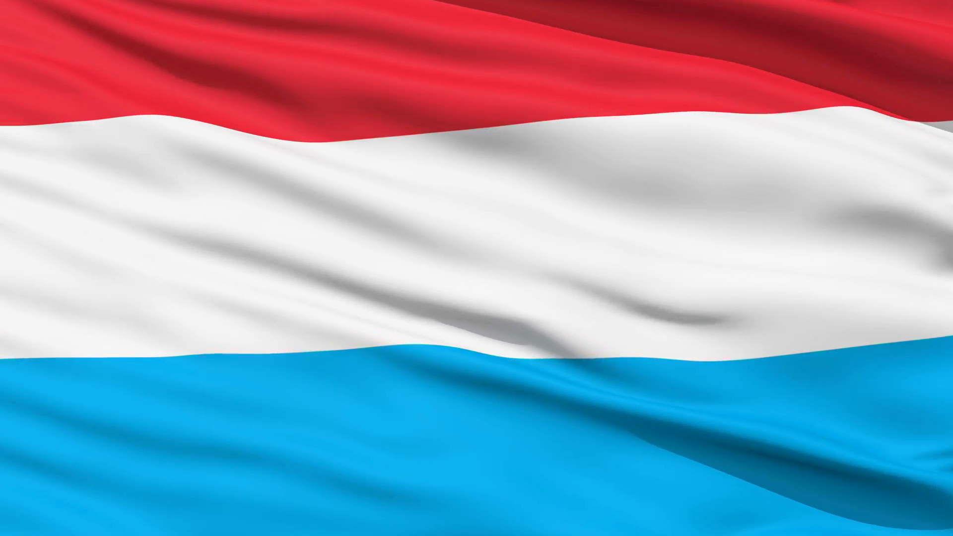 Waving Flag after Effects Beautiful Waving National Flag Of Luxembourg Motion Background