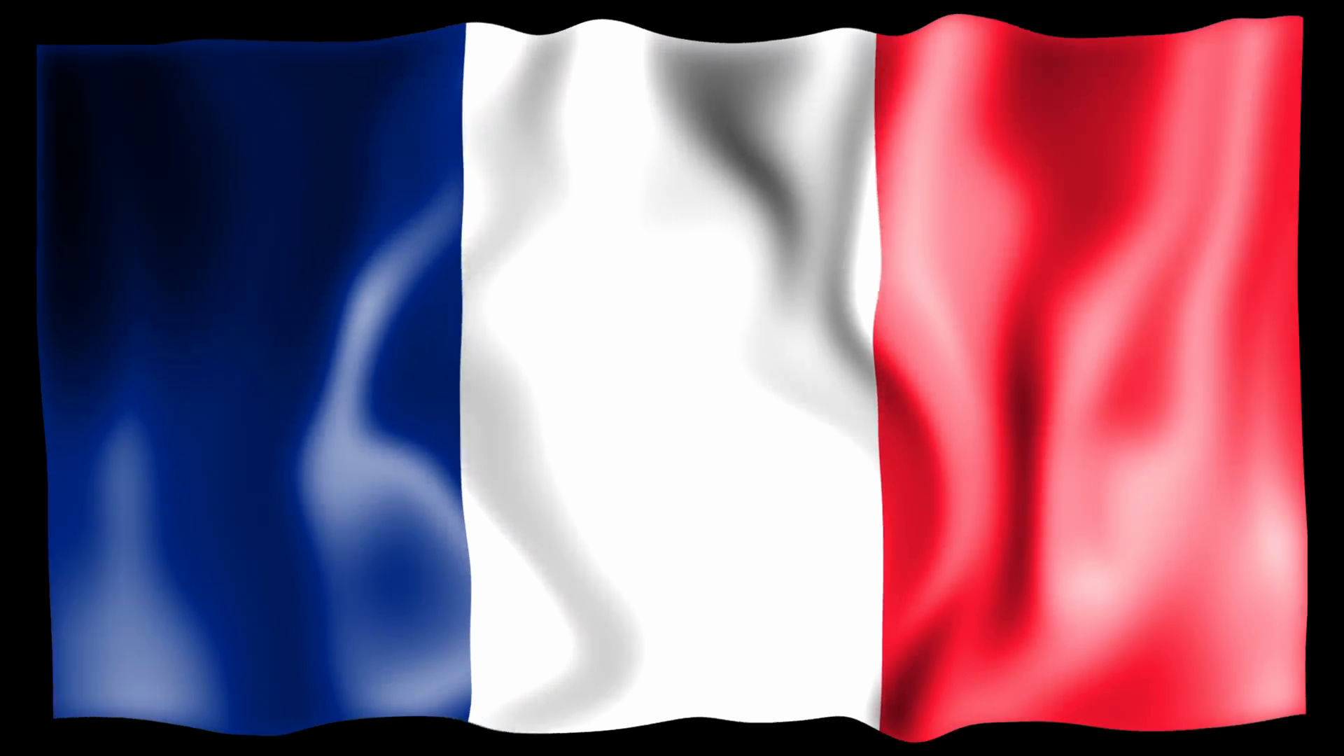 Waving Flag after Effects Elegant Waving France Flag Animation Motion Background