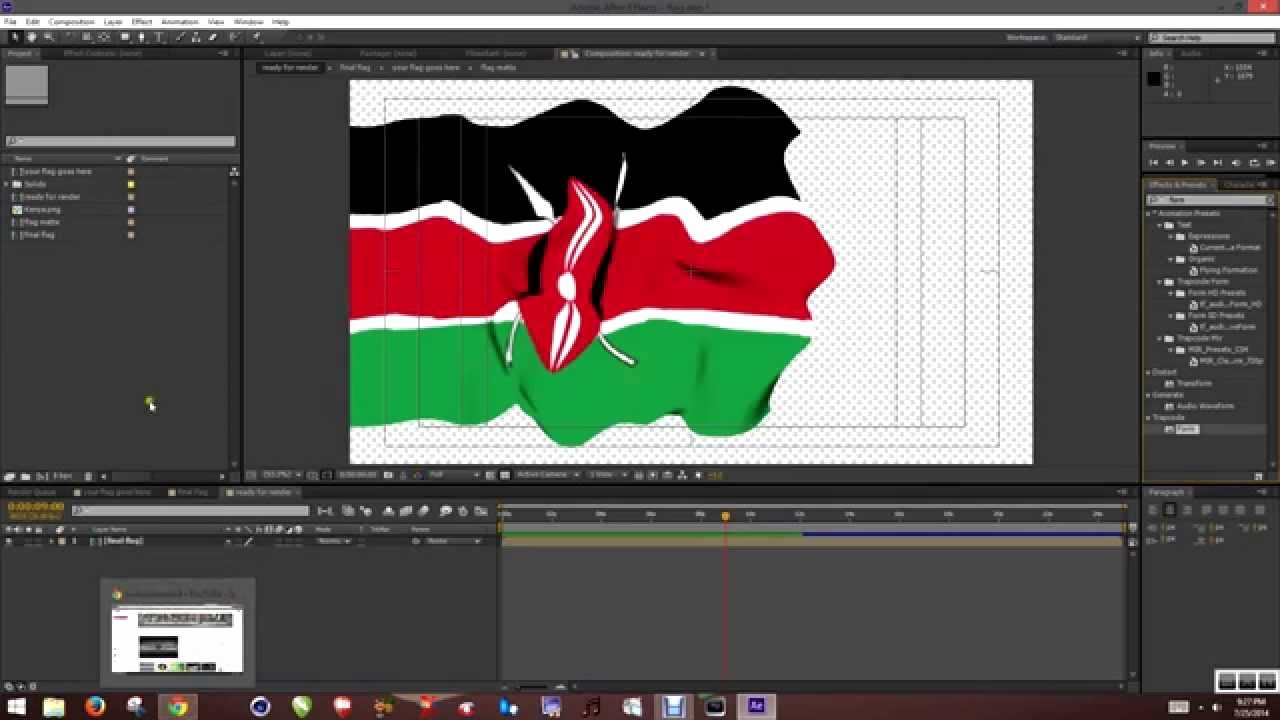 Waving Flag after Effects Fresh Free Waving Flag after Effects Template Link and Tutorial
