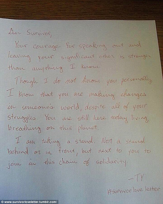 We are Moving Letter Best Of Survivorloveletters Sees Ual assault Victims Write