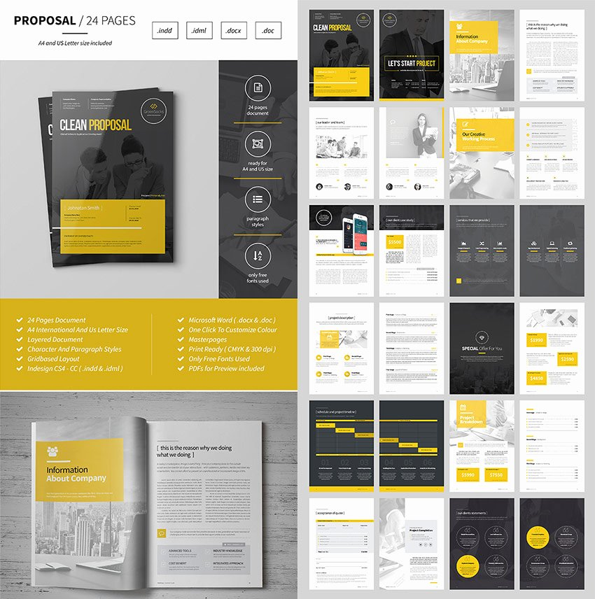 Web Design Proposal Sample Doc Inspirational 20 Best Business Proposal Templates Ideas for New Client