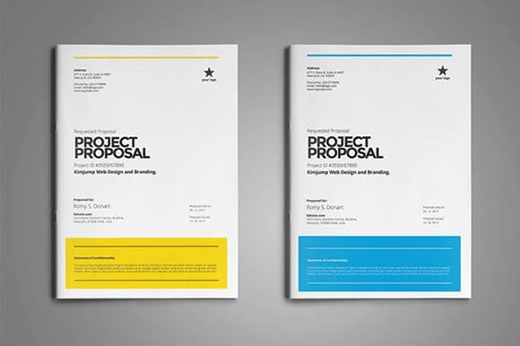 Web Design Proposal Sample Doc Luxury 12 Contoh Desain Cover Proposal Paling Menarik