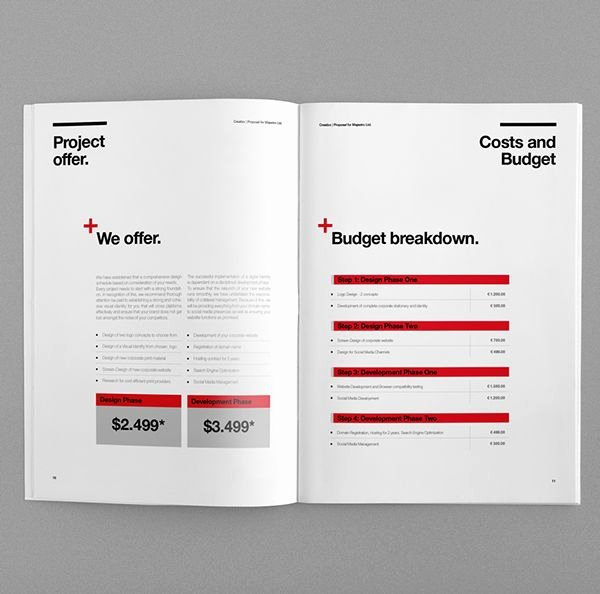 Web Design Proposal Sample Doc Unique 66 Best Graphic Design Documents