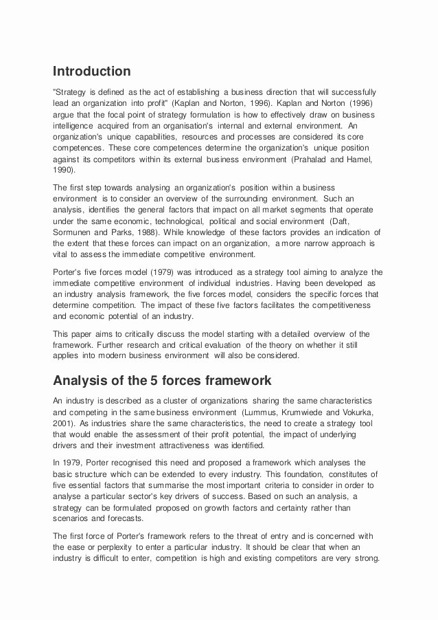 Website Analysis Essay Example Inspirational What is Strategy Michael Porter Essay Writerzane Web Fc2