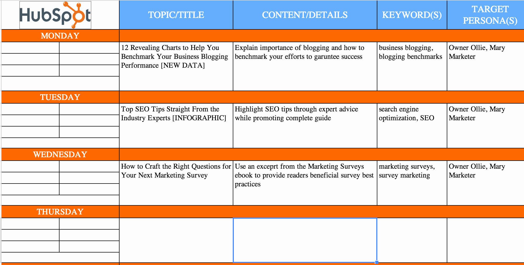 Website Content Outline Template Fresh the Plete Guide to Choosing A Content Calendar