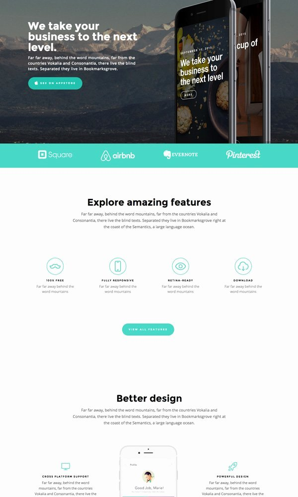 Website Content Outline Template Luxury 80 Free HTML5 Website Templates