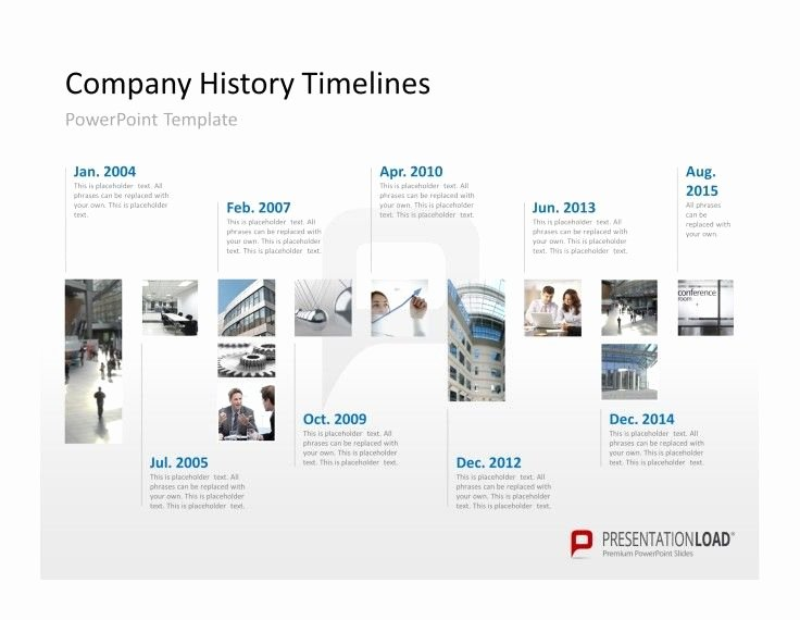 Website Development Timeline Template Lovely Show Your Pany History On A Timeline In A Powerpoint
