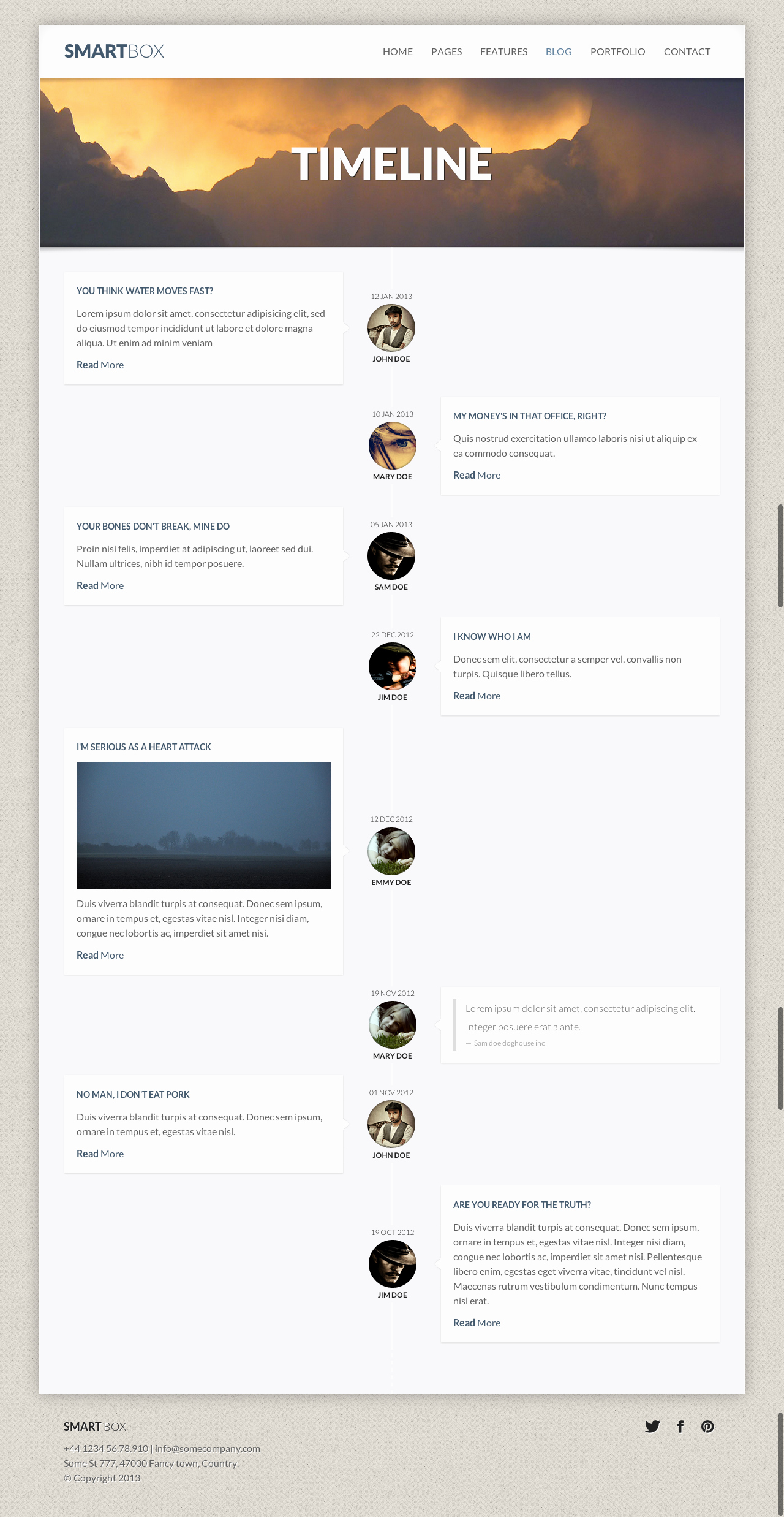 Website Development Timeline Template New Smartbox Responsive Wordpress Bootstrap theme