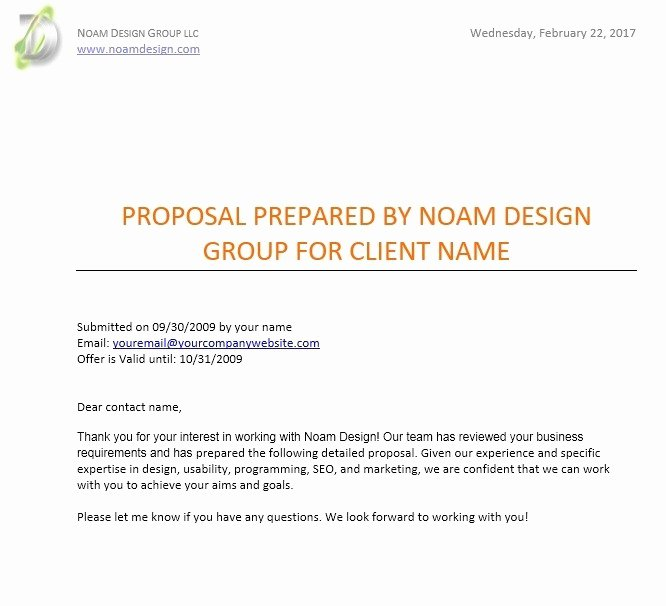 Website Proposal Template Word Best Of 12 Free Sample Website Design Proposal Templates