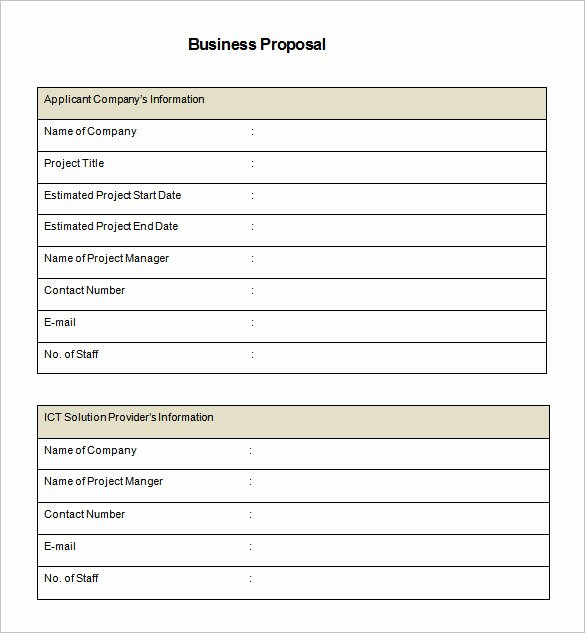 Website Proposal Template Word Elegant Proposal Research Paper Template