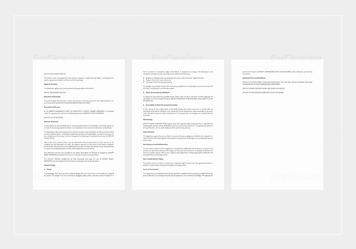 Website Proposal Template Word Elegant Website Project Proposal Template In Word Google Docs
