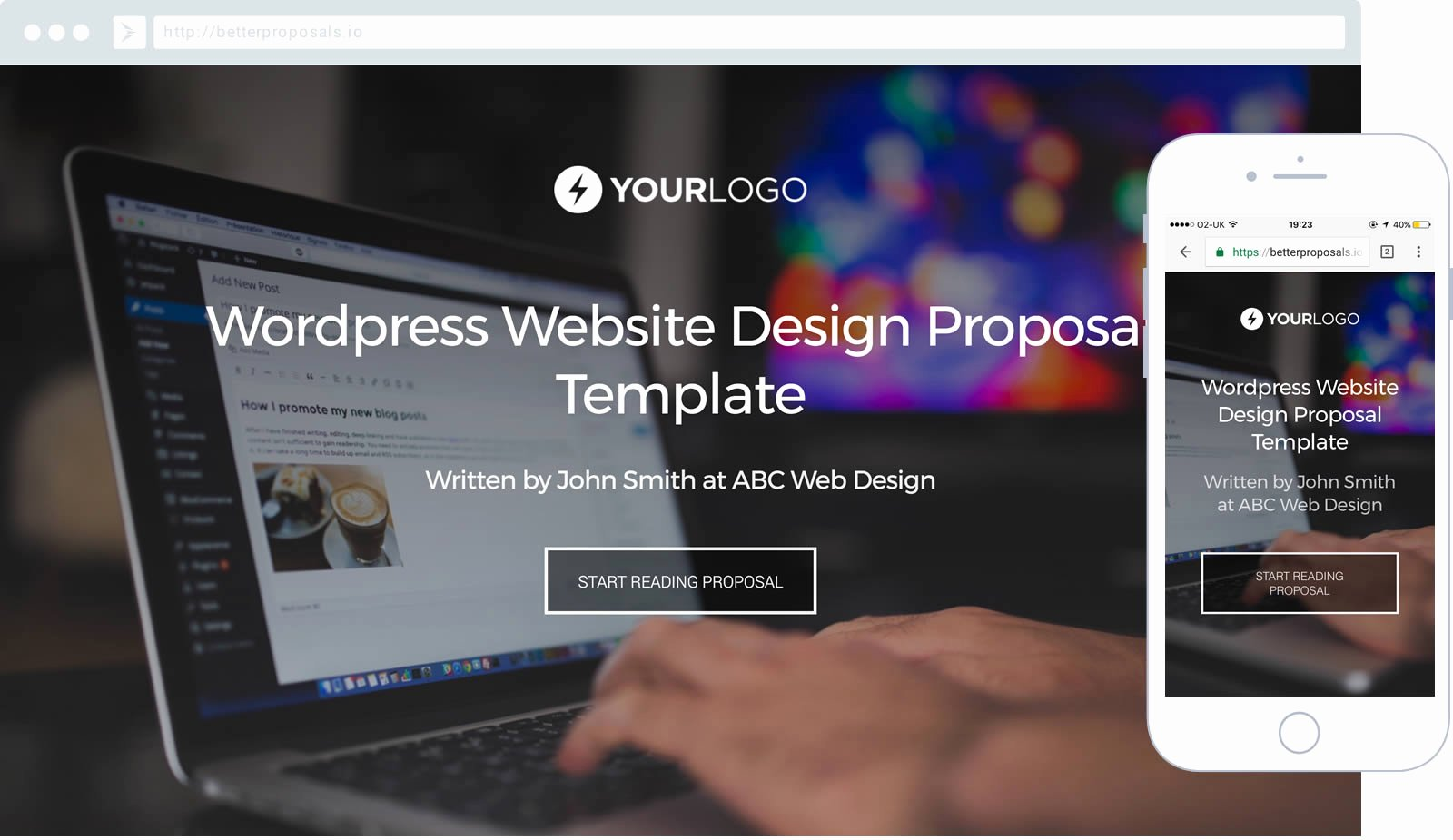 Website Proposal Template Word Inspirational Free Wordpress Website Design Proposal Template Better