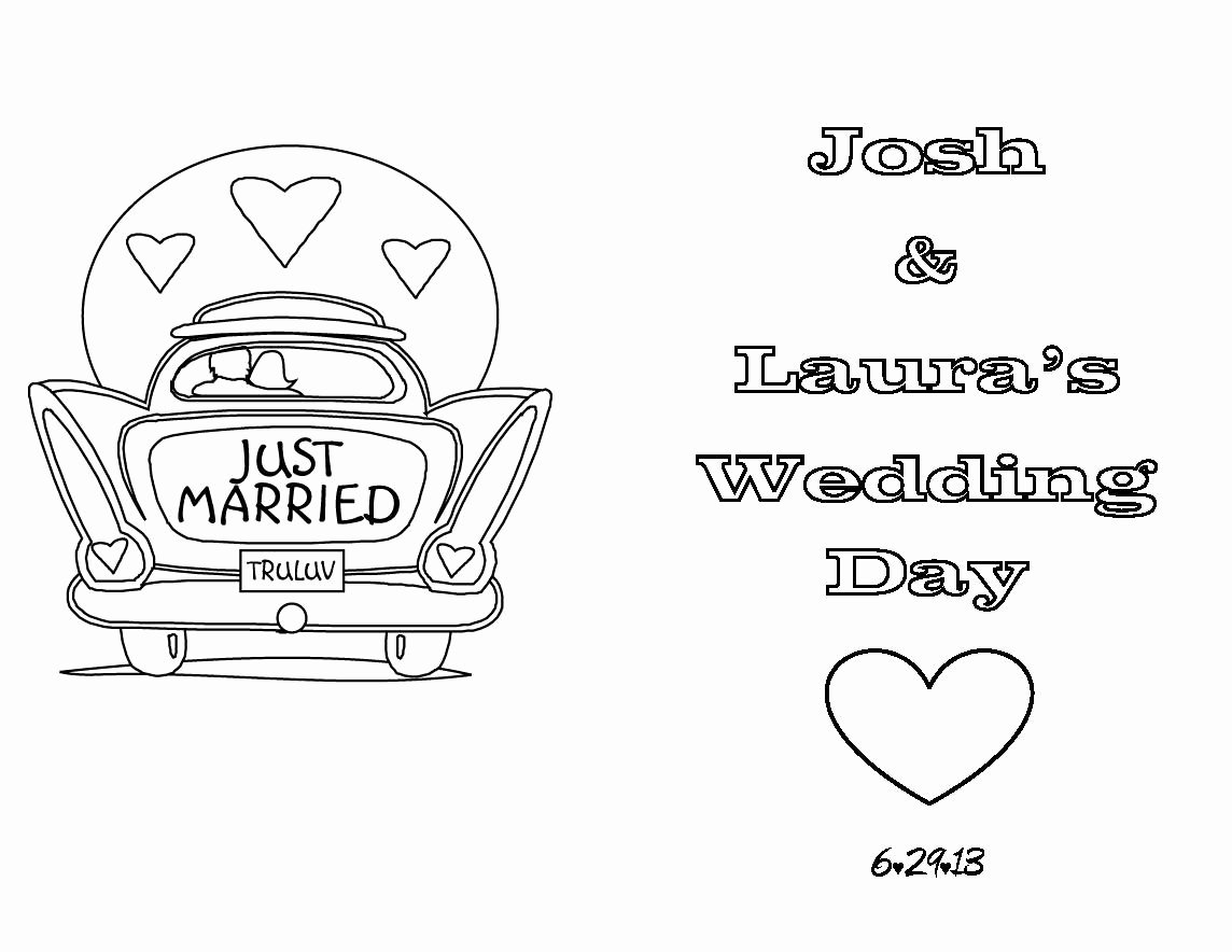 Wedding Coloring Book Templates Elegant then I Searched the Web to Find Coloring Pages or