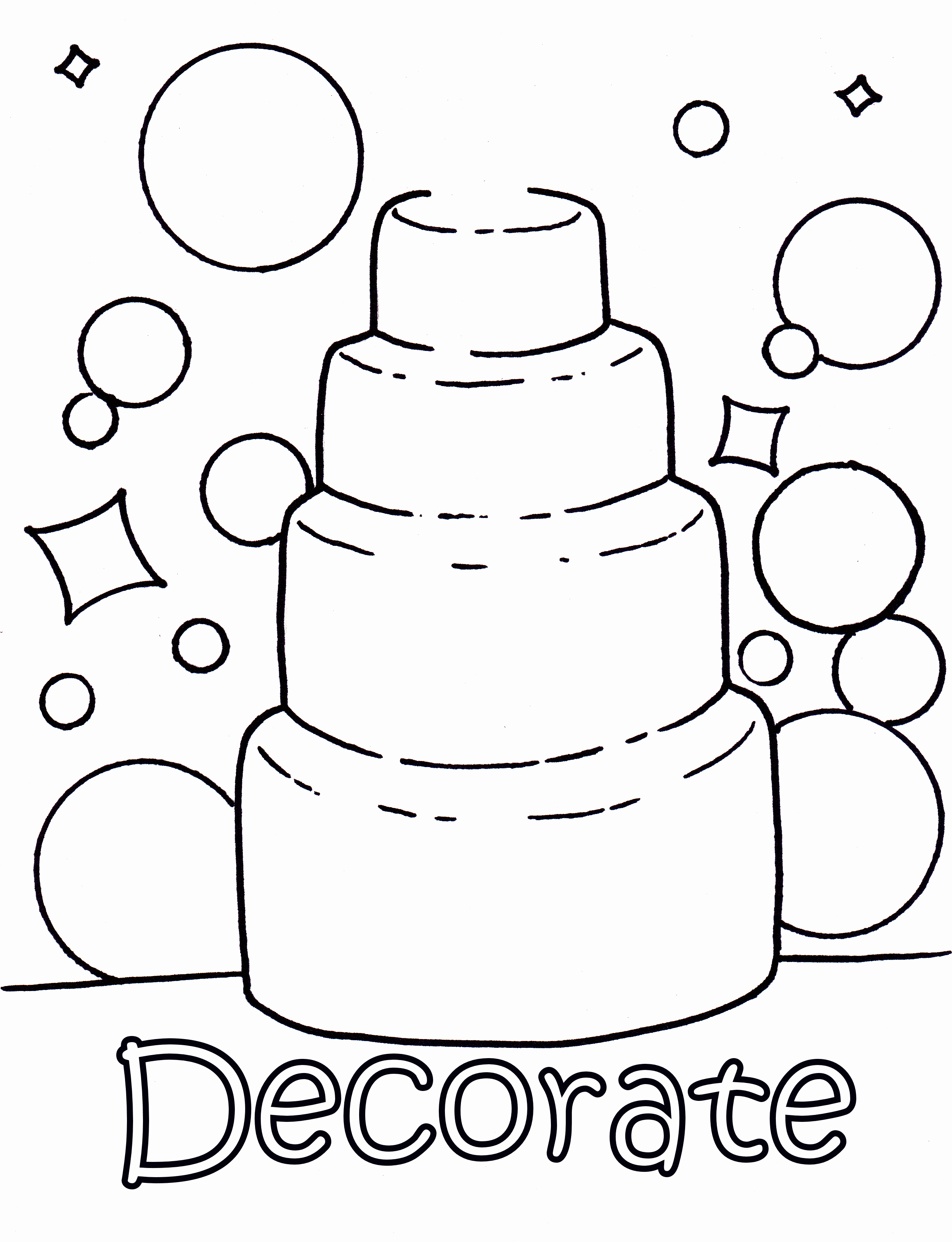 Wedding Coloring Book Templates Unique Coloring Picture Wedding Cake Colouring Pages Wedding