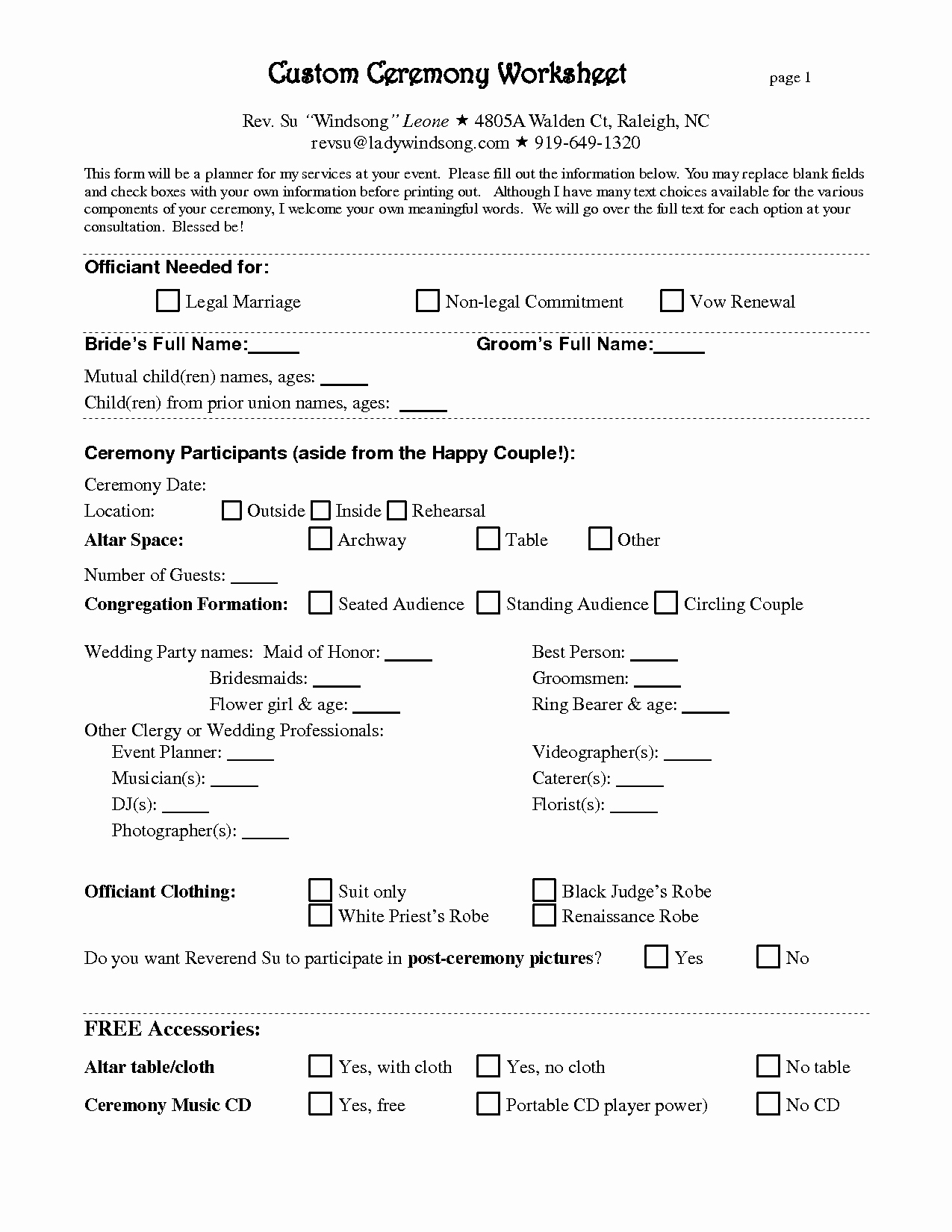 Wedding Coordinator Contract Inspirational Free Wedding Planner Contract Template
