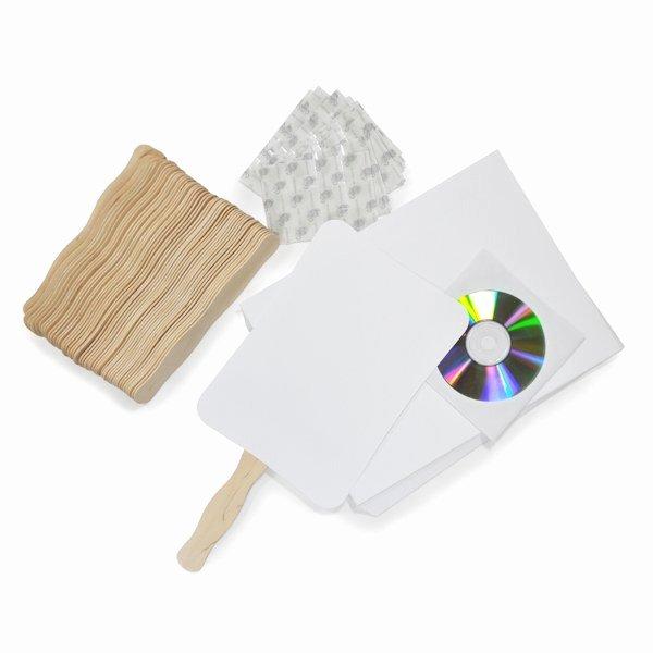 Wedding Fan Program Kit Unique Diy Wedding Program Fans Kit with Design Template