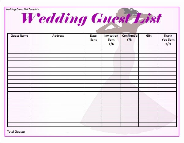 Wedding Photo Checklist Word Document Best Of Wedding List Template