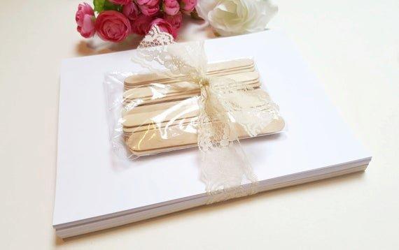 Wedding Program Fan Kit Elegant Diy Wedding Program Fan Kit Printable Fan Program Wedding