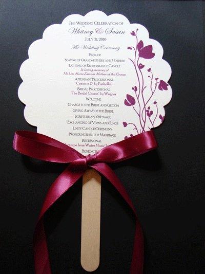 Wedding Program Fan Kit Lovely 7 Best Memorial Fans Church Fan Kits Images On Pinterest