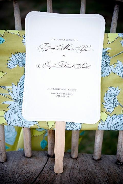 Wedding Program Fan Kit Luxury Do It Yourself Weddings Diy Fans for Your Wedding Day