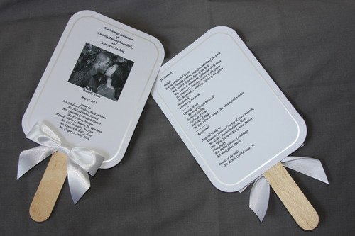 Wedding Program Fan Kit Unique Amazon Wilton Print Your Own Fan Kit Printable Hand