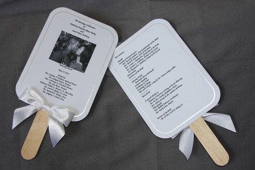 Wedding Program Fan Kit Unique Amazon Wilton Print Your Own Fan Kit Printable Hand