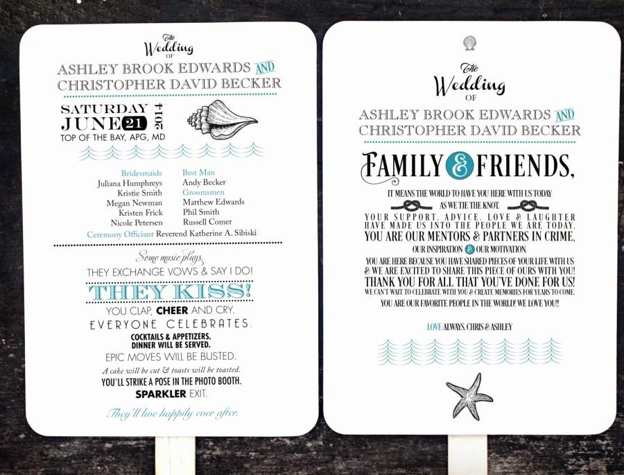Wedding Program Fans Kit Awesome Diy Wedding Program Fan Kit order Service Fan