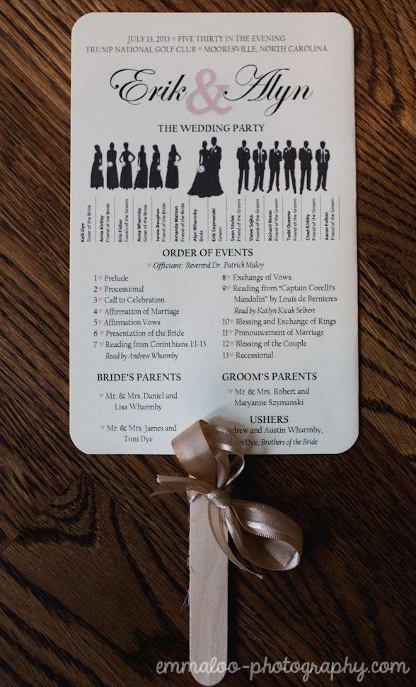 Wedding Program Fans Kit Unique Best 25 Fan Wedding Programs Ideas Only On Pinterest