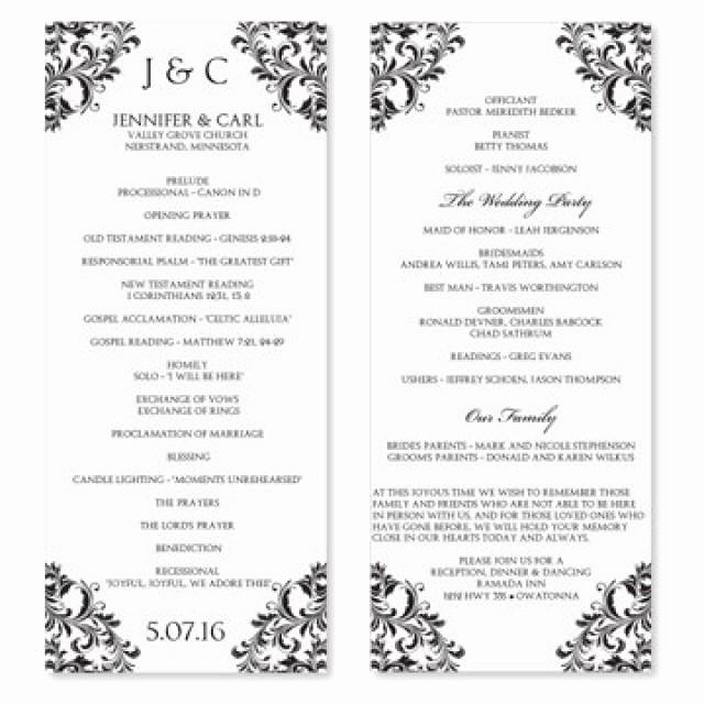 Wedding Program Template Free Download Awesome Download Free software How to Design Wedding Program In