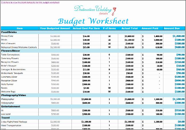Wedding Project Plan Excel Best Of Super Simple Destination Wedding Planning Spreadsheets