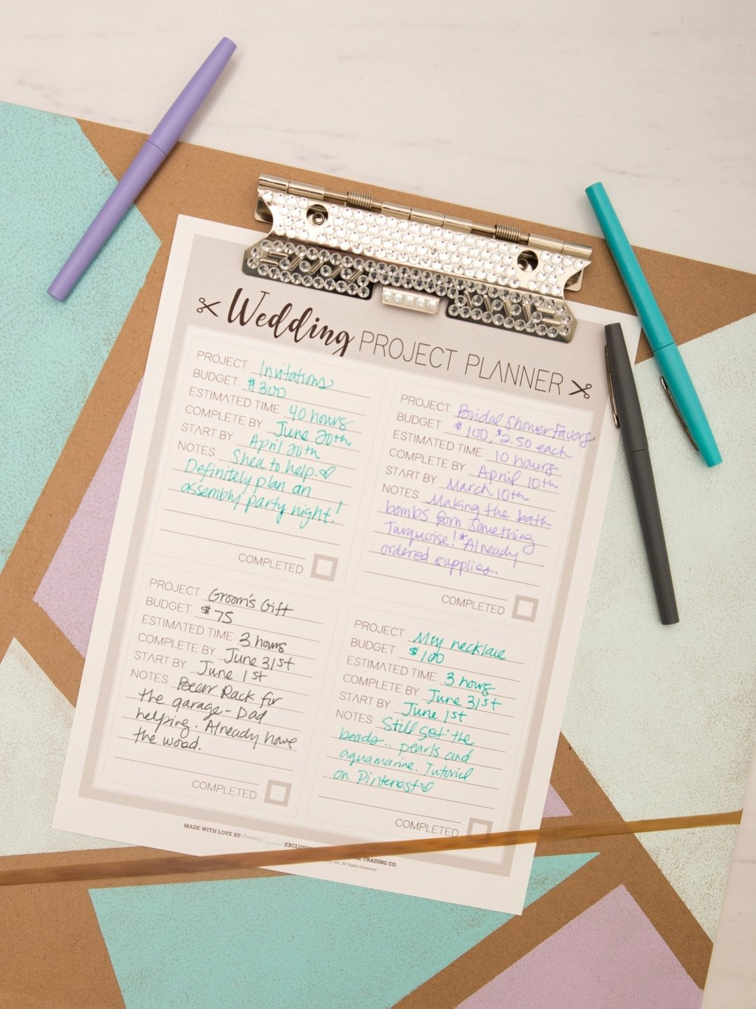 "Wedding Project Plan Luxury Print Out Out This Diy ""wedding Project Planner Sheet"" for"
