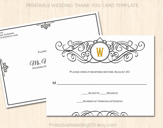 Wedding Rsvp Postcards Template Elegant Printable Wedding Rsvp Postcard Template Editable Wedding