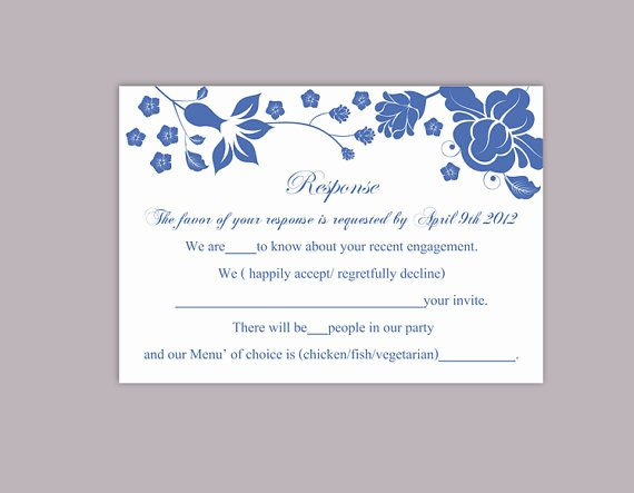 Wedding Rsvp Postcards Template Inspirational Diy Wedding Rsvp Template Editable Word File Download Rsvp